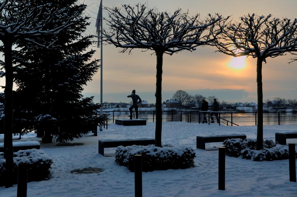 Lauenburg - Der Rufer im Schnee