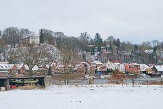 Lauenburg im Winter