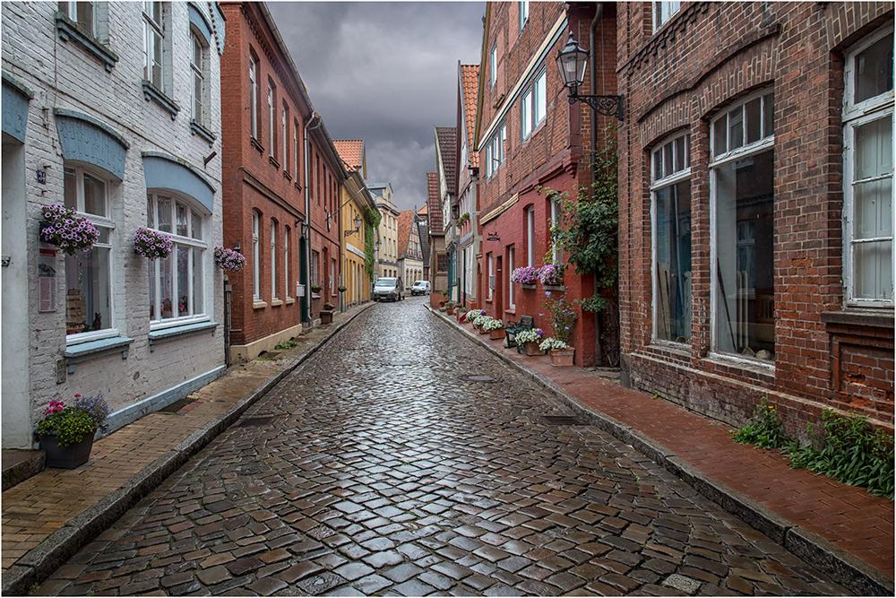 Lauenburg nach dem Regen