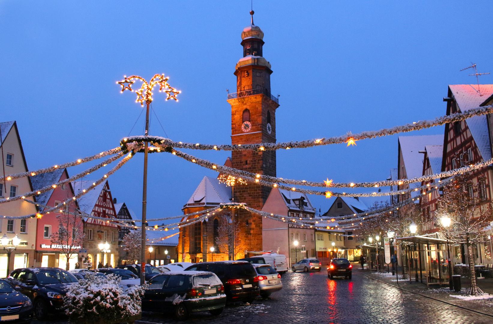 Weihnachten Kirche.Lauf An Der Pegnitz Weihnachten Kirche Franken Nürnberger Land