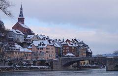 Laufenburg am Hochrhein Winter 2017