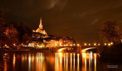 Laufenburg (Baden) bei Nacht