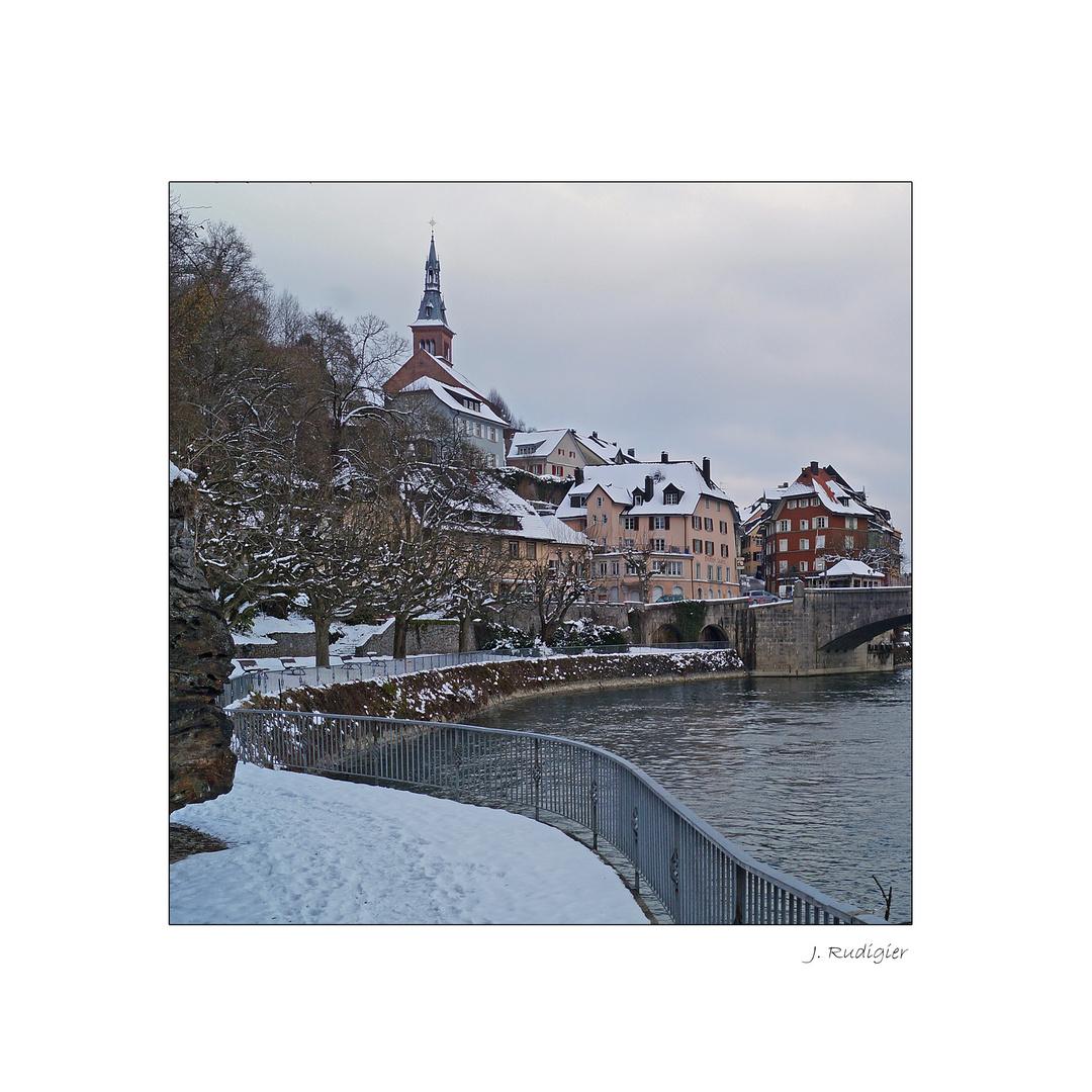 Laufenburg (Baden) im Winter
