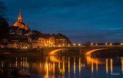 Laufenburg (Baden) zur blauen Stunde