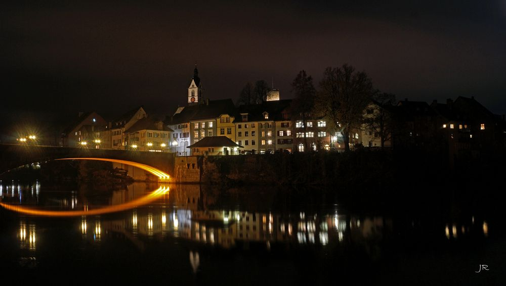 Laufenburg bei Nacht