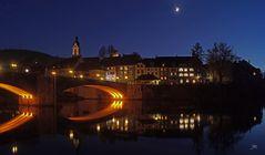 Laufenburg zur Blauen Stunde
