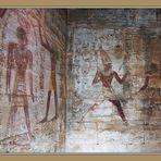 Laufritual im Tempel von Amada
