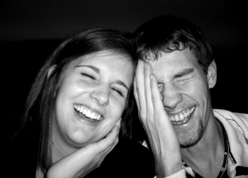 laugh·ter (lāf'tər, läf'-) n. an expression or appearance of merriment or amusement.
