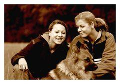 Laura, Anna und Troll