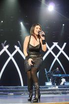 Laura Pausini bei Ihrem Konzert in Dortmund!