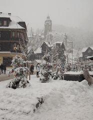 Lauscha im Schnee