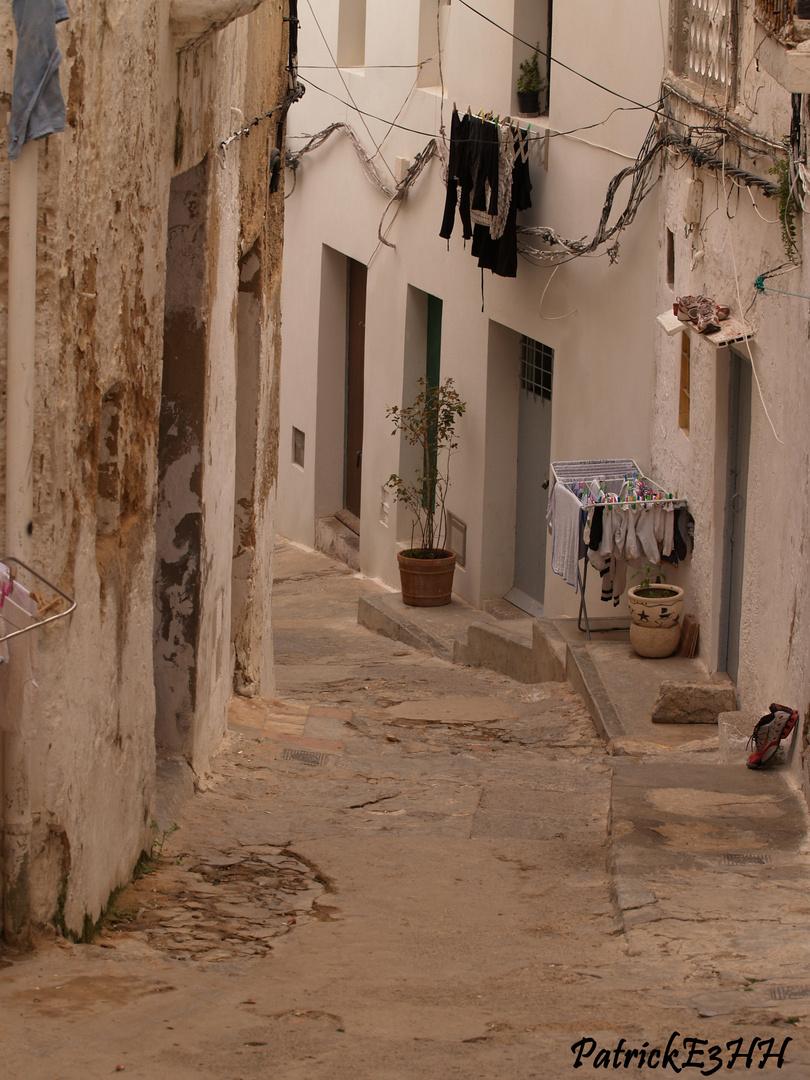 lauschige Gasse in Ibiza Stadt