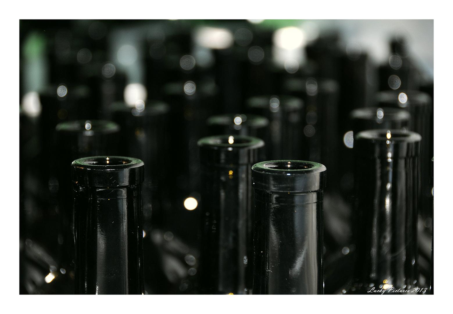 lauter Flaschen - die Jois Serie