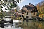 l'automne au moulin de Fourges
