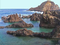 Lava-Becken bei Porto Moniz