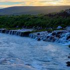 Lavafälle bei Hraunfossar, Island