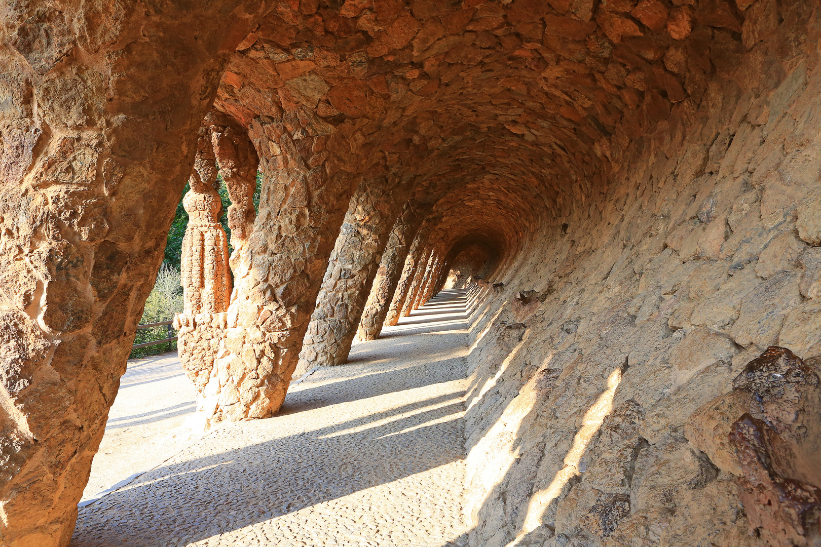 Lavandera Säulengang