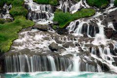 Lavawasserfälle auf Island