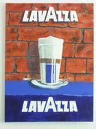Lavaza Acryl auf Leinwand