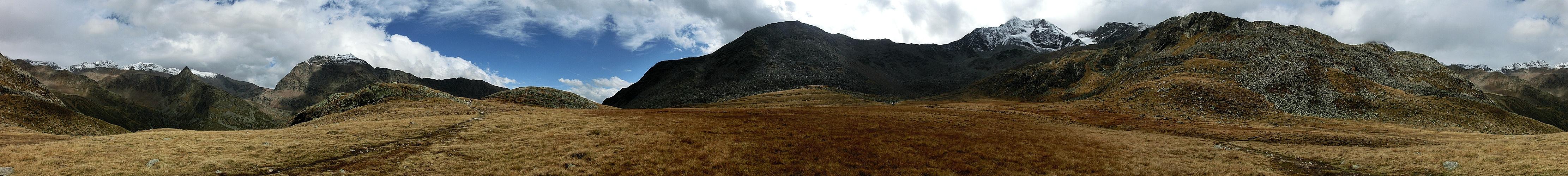 Lazaunalm Panorama