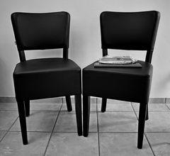 LD Reisebüro leere Stühle
