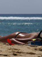 * Le 31 juillet sur une plage landaise. *  -  Exercice hebdomadaire : Eté.