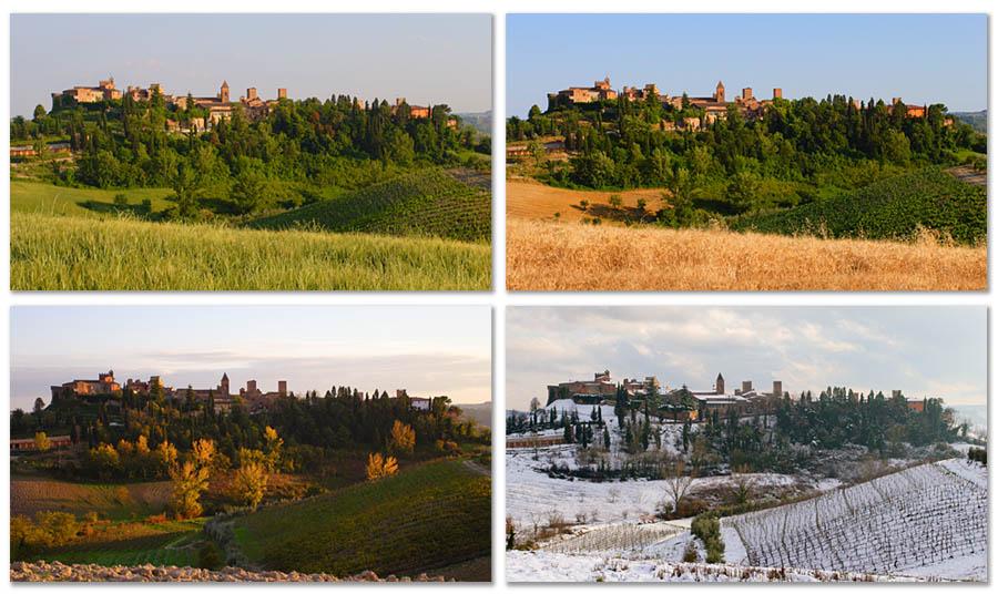 Le 4 stagioni del borgo