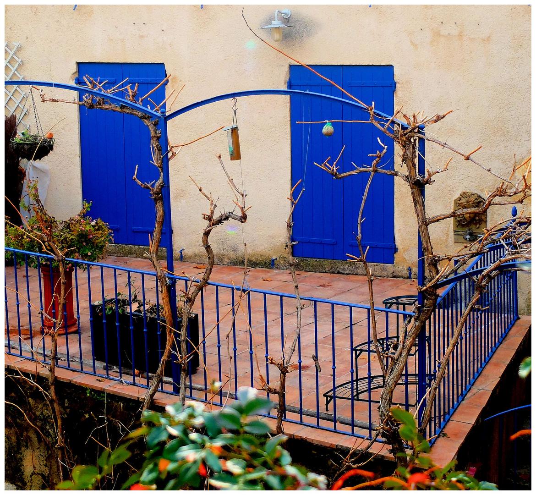Le balcon bleu