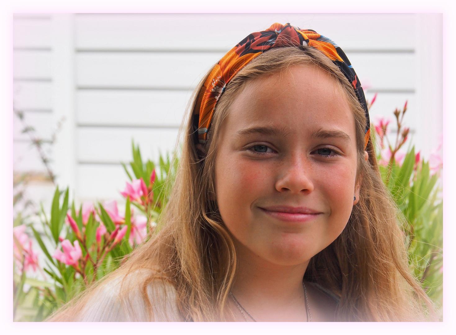 Le bandeau orange de Valentina