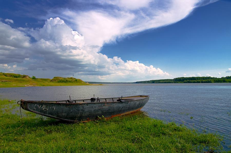 Le bateau à Capidava