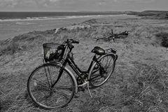 le biciclette abbandonate....