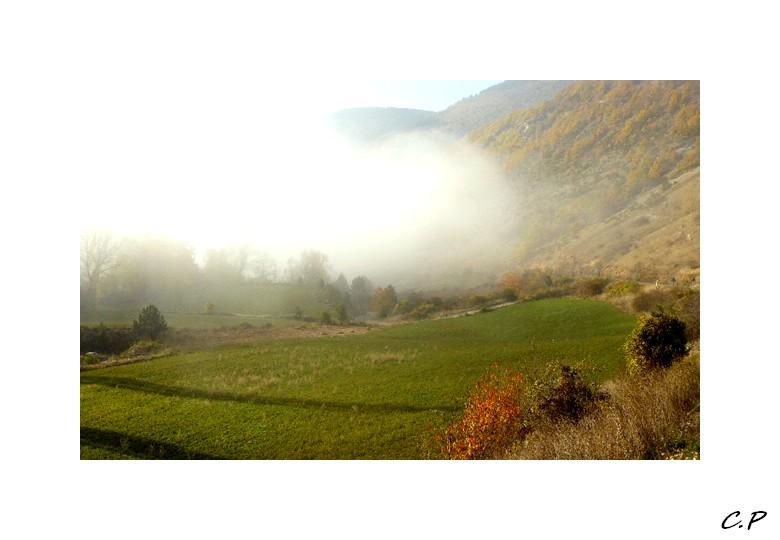 Le brouillard s'estompe ...
