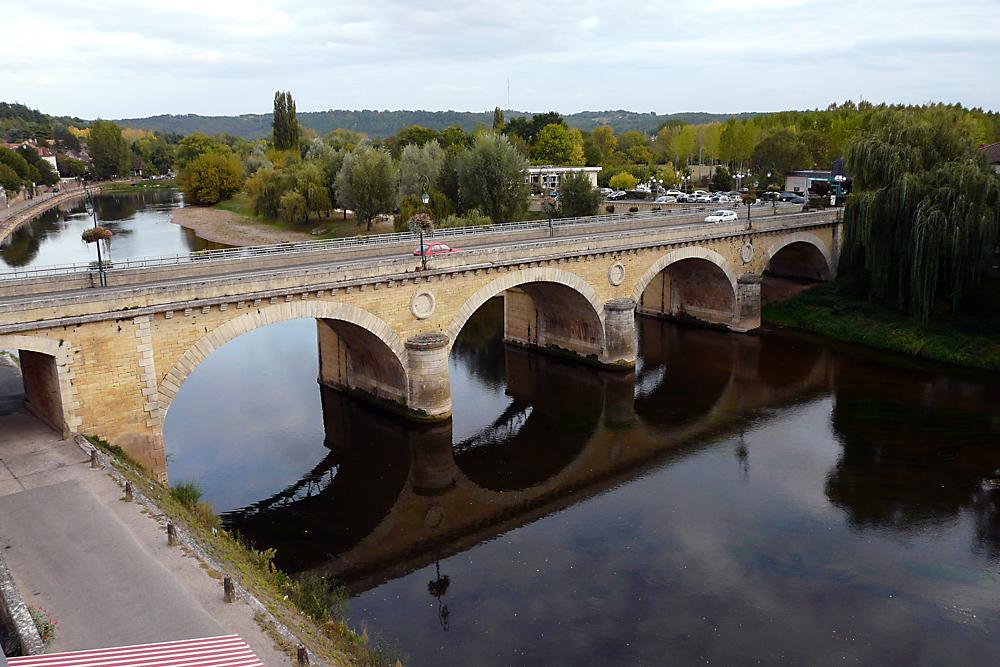 Le Bugue - am Ufer der Vézère