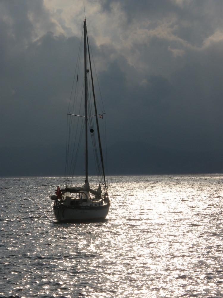 le calme avant l'orage
