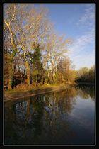 Le canal au petit matin