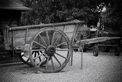 Le chariot et le tracteur