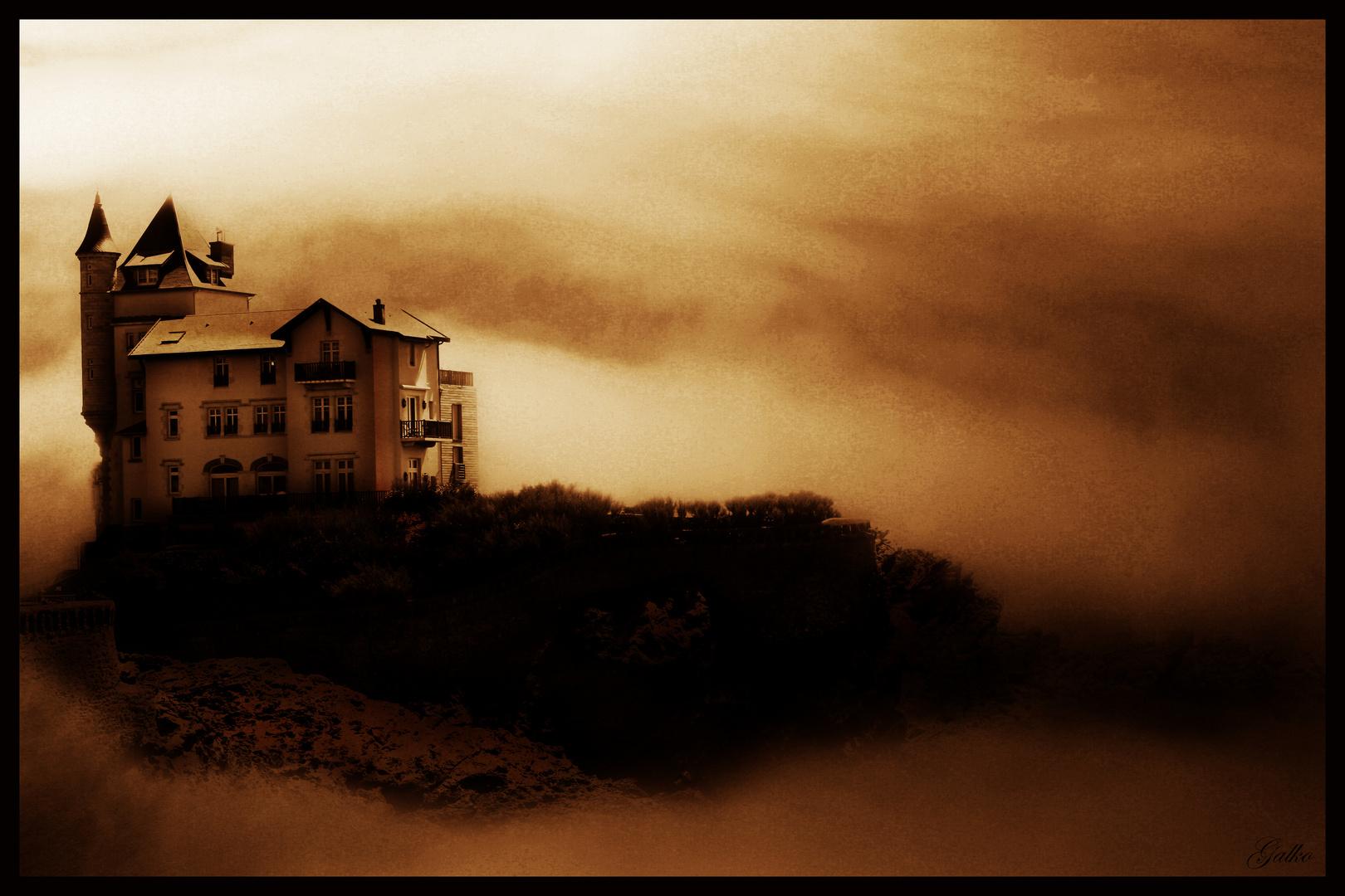 Un Chateau Dans Les Nuages le chateau dans les nuages photo et image   paysages, digit