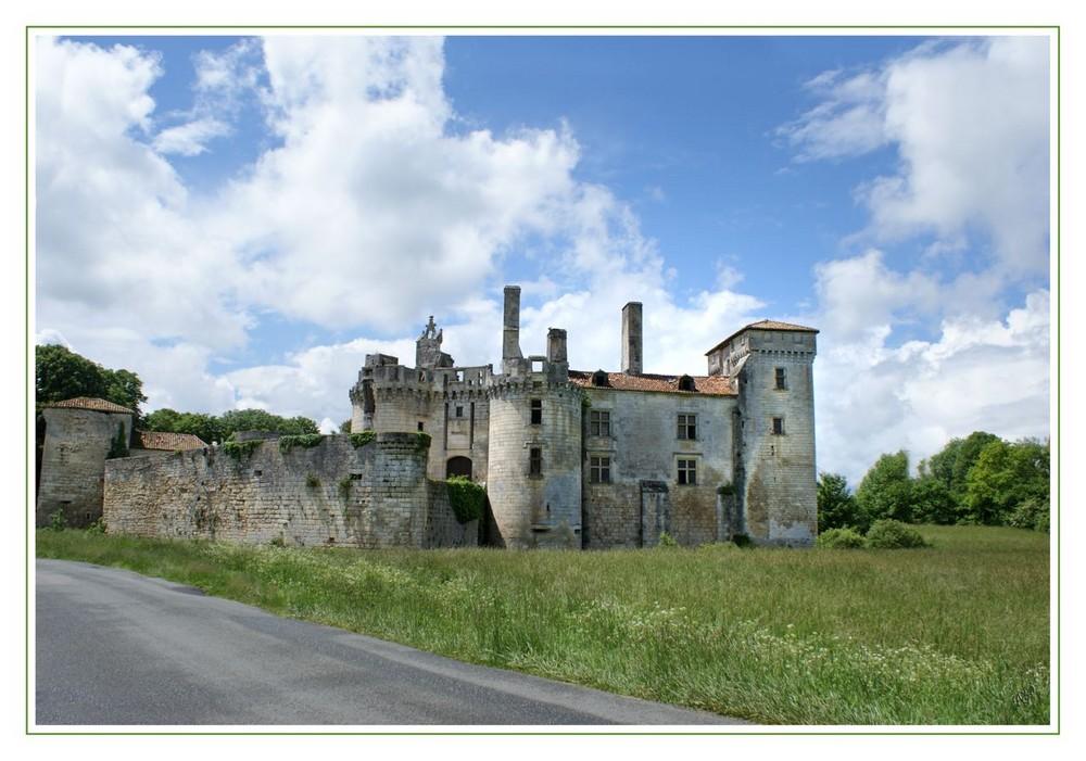 Le chateau de Mareuil (Périgord)
