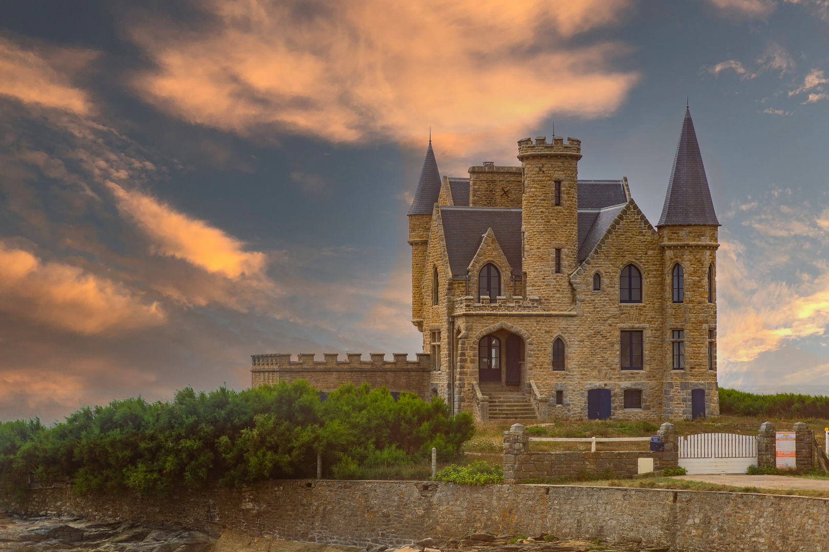 Le Chateau Turpault, ein Traumschloss?
