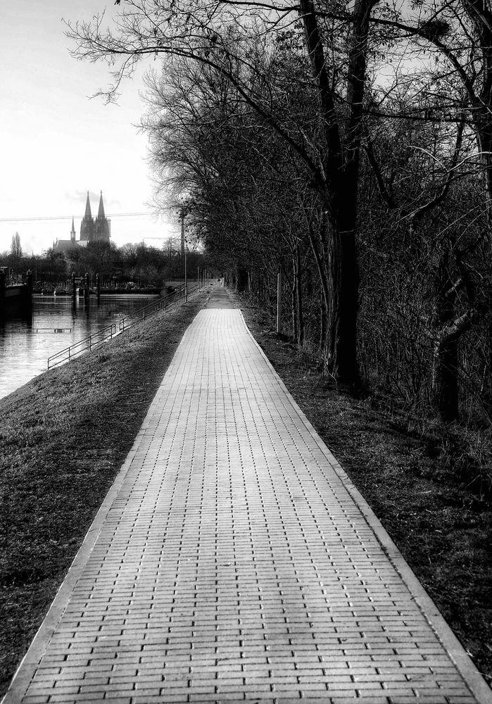 Le chemin (25) .....mène à la cathédrale de Cologne!