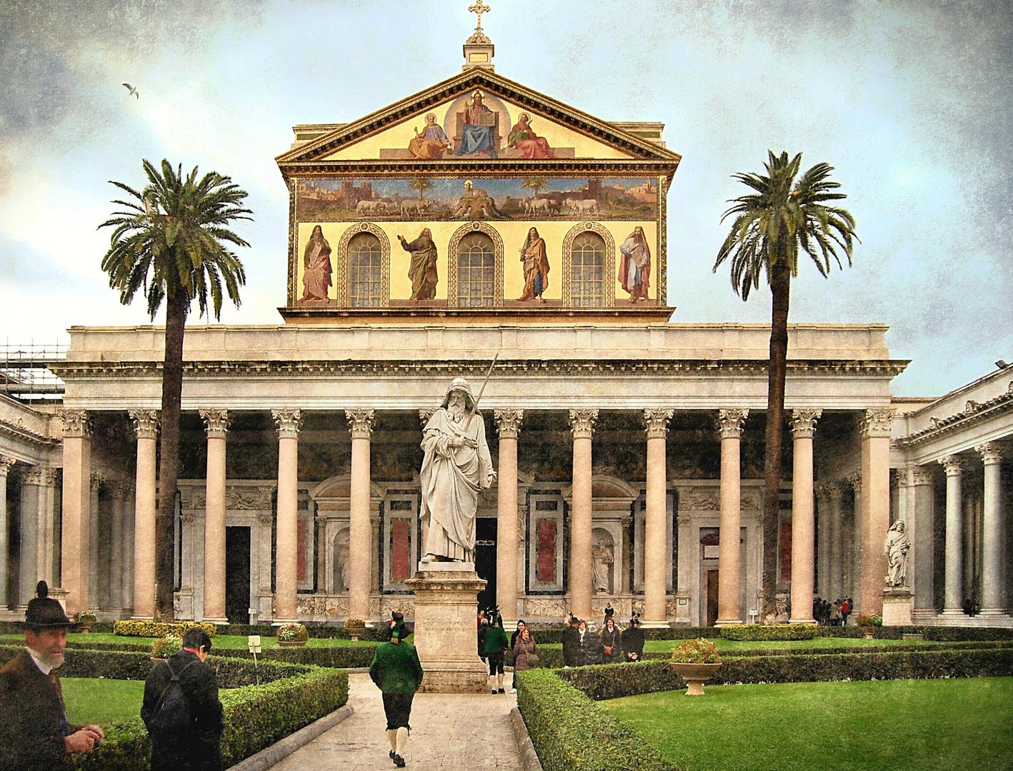 """Le Chiese di Roma: """"Basilica di San Paolo fuori le mura"""""""