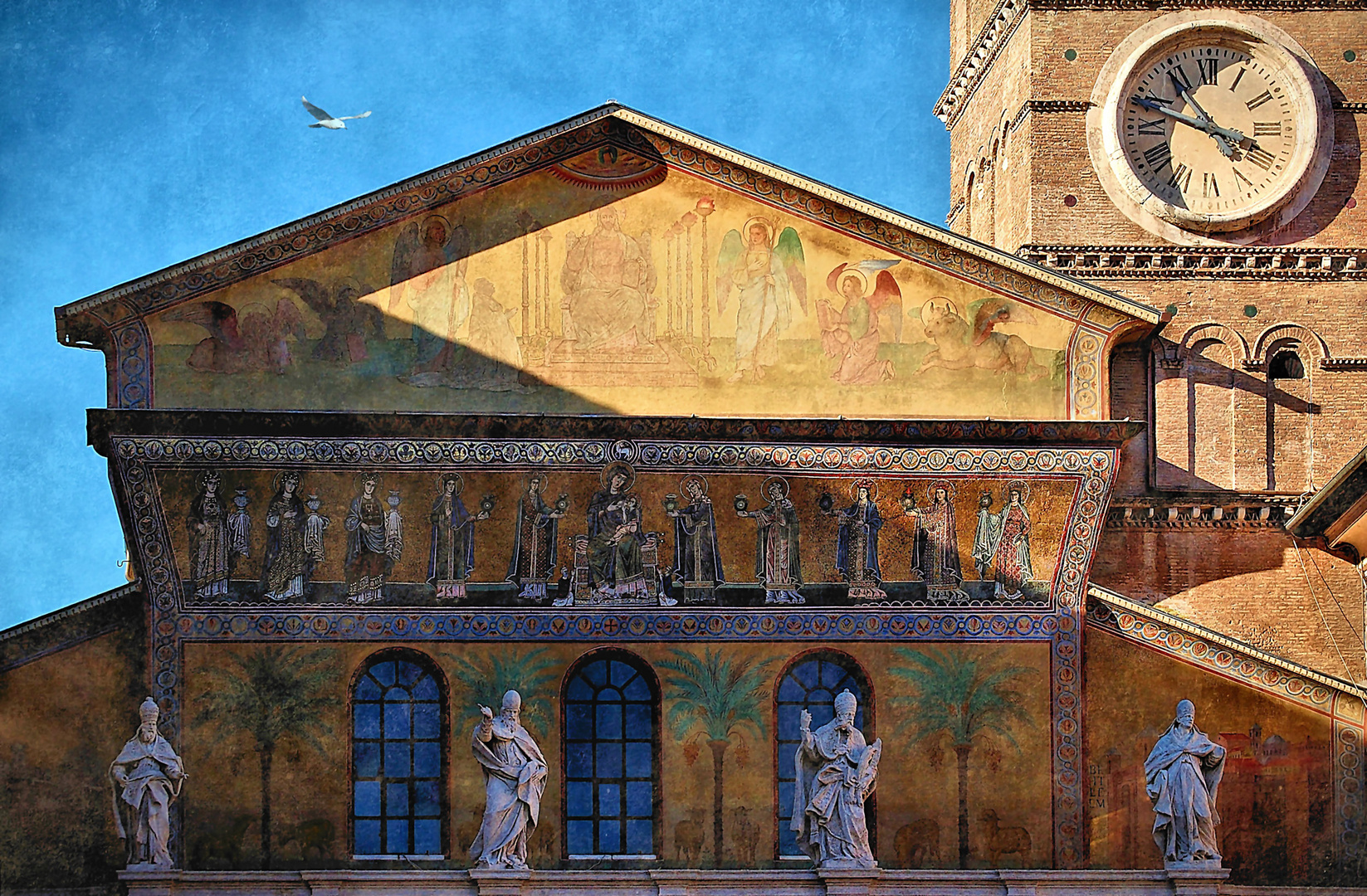 "Le Chiese di Roma: ""Basilica di Santa Maria in Trastevere"""