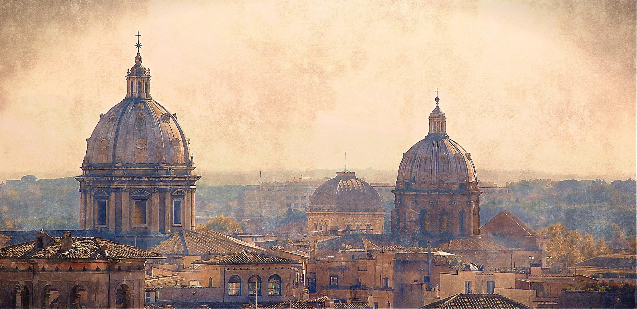 """Le Chiese di Roma: """"Basilica di Sant'Andrea della Valle e Chiesa di San Carlo ai Catinari """""""