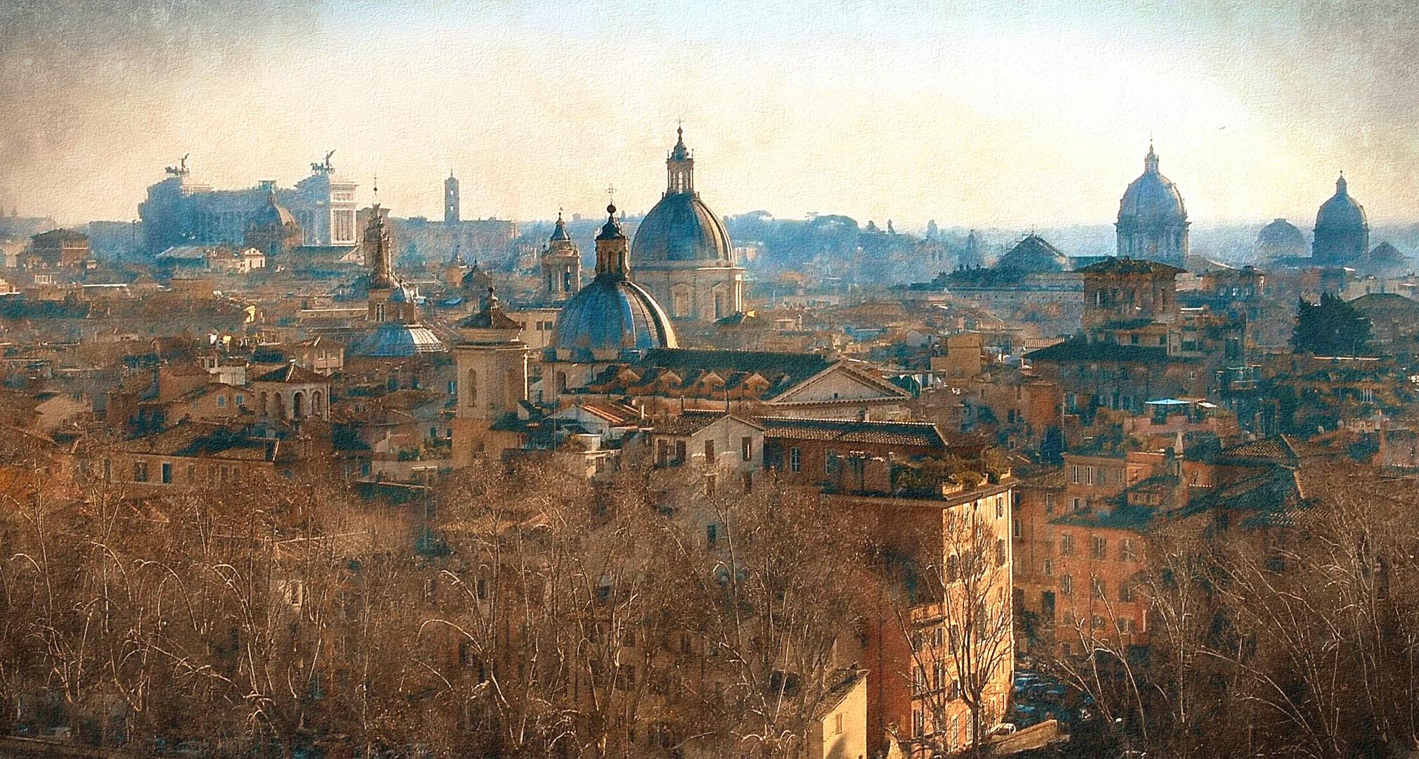"Le Chiese di Roma: ""fuga di Cupole"""