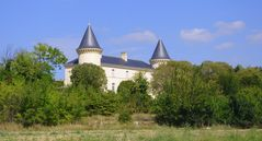 le château d'Aubussargues, Gard
