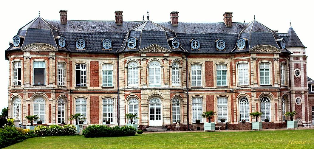 Le Château de Long du XVIIIème siècle © Tous droits réservés