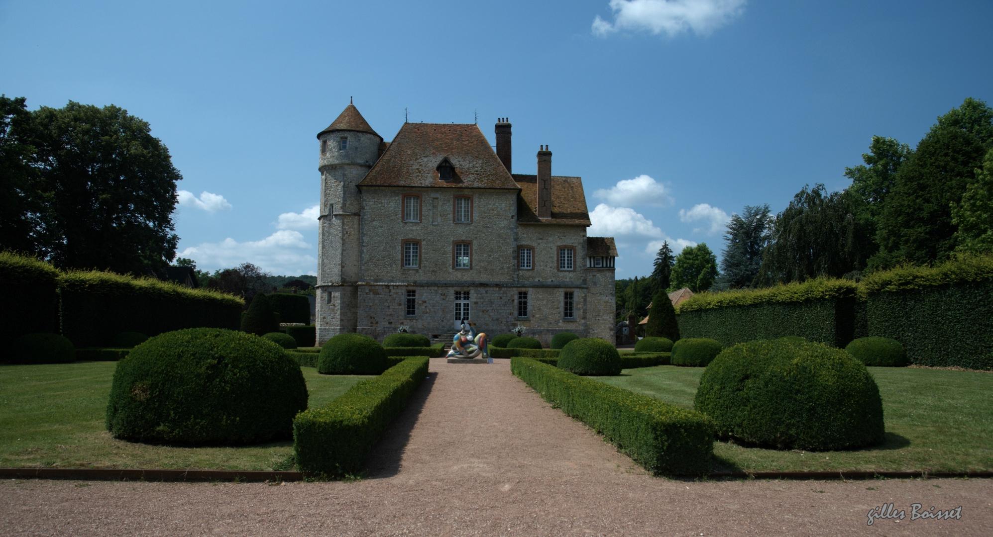 Le château de Vascœuil