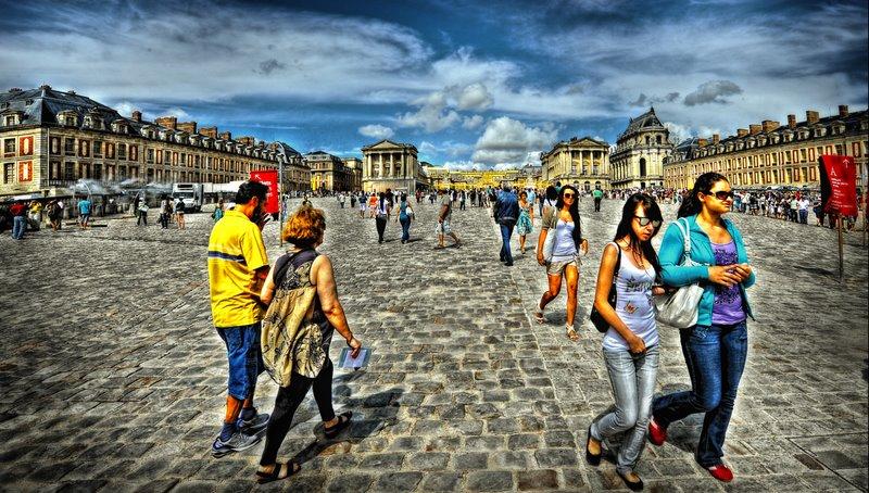 Le château de Versailles