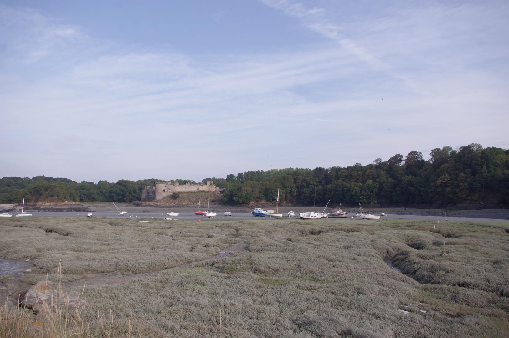 Le château du Guildo à Créhen, Bretagne