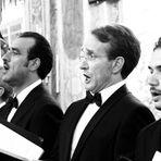 Le chœur ... et Notre-Dame semble diriger